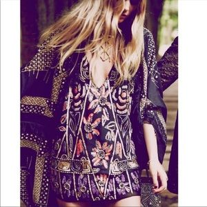 Free People Love and Embellished Shift Dress